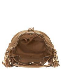 Nine West | Brown Pammy Fringed Bucket Bag | Lyst