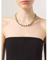 Vaubel | Metallic Small Pebble Necklace | Lyst