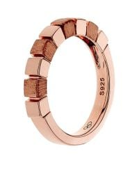Links of London - Pink Cubist Ring - Lyst