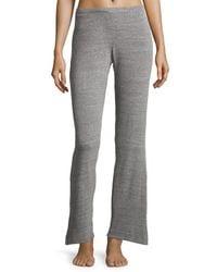 Natori | Gray Cosi Heathered Lounge Pants | Lyst