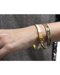 Hermès | Black Pre-owned: Perfume Bottle Enamel 70 Bracelet | Lyst