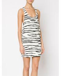 Ashish - Black Sequin and Silk Mini Dress  - Lyst