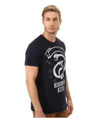DIESEL - Blue T-newyn T-shirt for Men - Lyst
