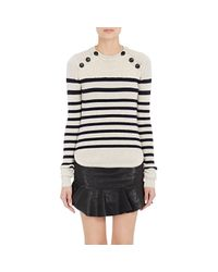 Isabel Marant - White Women's Hatfield Sweater - Lyst