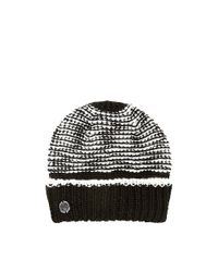 Vince Camuto - Black Two-tone Cuffed Hat - Lyst