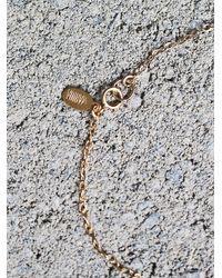 Free People - Blue Pendulum Stone Necklace - Lyst