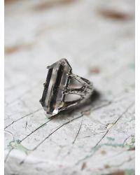 Free People | Metallic Tribe Jewelry Womens Crystal Talon Ring | Lyst
