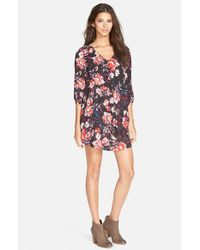 Lush - Multicolor 'karly' Shift Dress - Lyst