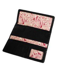 Hobo | Black Sadie Leather Wallet | Lyst