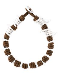 Vivienne Westwood | Brown Wire Detail Bracelet | Lyst