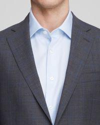 Hart Schaffner Marx - Gray Platinum Label Windowpane Check Suit - Regular Fit for Men - Lyst