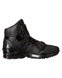 Adidas | Black Perf Leather Zx8000 Mid Jj | Lyst