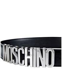 Moschino - Metallic Belt - Lyst