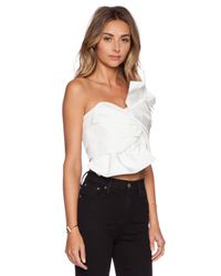 C/meo Collective | White X Revolve No Advice Bustier | Lyst