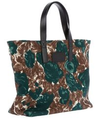 Dolce & Gabbana - Green Floral Tote Bag - Lyst