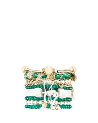 Samantha Wills - Green By My Side Bracelet Set - Lyst