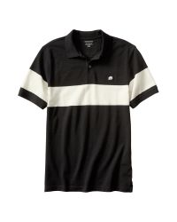 Banana Republic | Black Factory Piqué Polo for Men | Lyst