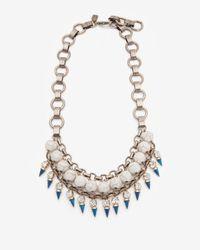 Lionette - Natural Capetown Necklace Ivory - Lyst