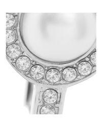 Balenciaga | Metallic Clip-on Earrings | Lyst
