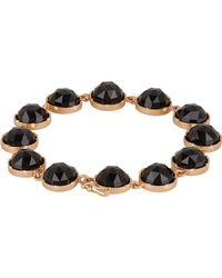 Irene Neuwirth - Black Gemstone Bracelet - Lyst
