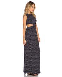 Clayton - Blue Emily Maxi Dress - Lyst