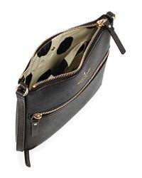 Kate Spade | Black Tenley Leather Crossbody Bag | Lyst