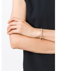 V Jewellery   Metallic 'simplicity' Bracelet   Lyst