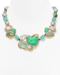 Alexis Bittar | Green Chrysoprase Amazonite Strand Necklace 16 | Lyst