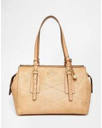 Fiorelli | Brown East West Shoulder Bag With Quilt Stitch Detail | Lyst