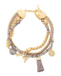 Henri Bendel | Metallic East Hampton Charm Bracelet | Lyst