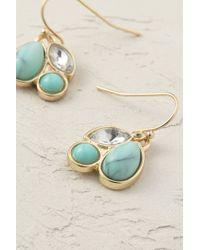 Anthropologie - Blue Mint Dewdrop Earrings - Lyst