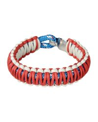 Miansai - Red Bracelet for Men - Lyst