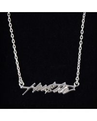 Bing Bang | Metallic Hustle Necklace | Lyst