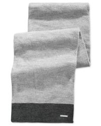 Michael Kors | Gray Michael Color-block Muffler Scarf for Men | Lyst