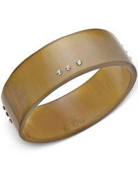 INC International Concepts - Brown Inc Natural Horn Bangle Bracelet - Lyst