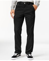 Wesc | Black Eddy Chino Pants for Men | Lyst