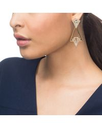 Lulu Frost - Metallic Portico Earring - Lyst