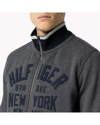 Tommy Hilfiger | Gray Naz Sweatshirt for Men | Lyst