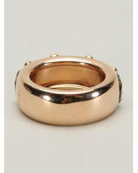 Pomellato - Metallic Gold Prasiolite Band Ring - Lyst