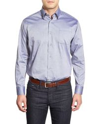 Robert Talbott | Blue 'anderson' Classic Fit Long Sleeve Sport Shirt for Men | Lyst