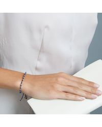 Biography   Blue Wisdom Skinny Bracelet   Lyst