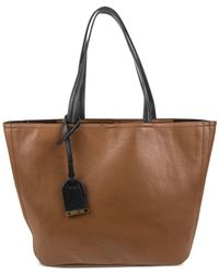 Kenneth Cole Reaction | Brown Clean Slate Medium Shopper | Lyst