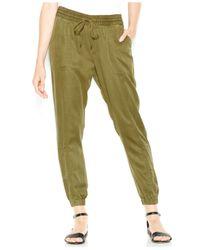 Lucky Brand | Green Drawstring Cargo Pants | Lyst