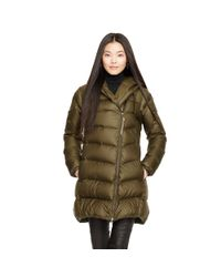 Ralph Lauren | Green Hooded Down Parka | Lyst