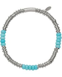 Links of London | Blue Sweetie Extra-small Sterling Silver Bracelet | Lyst
