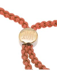 Monica Vinader | Poppy Red Havana Gold-Plated Friendship Bracelet | Lyst