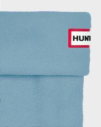 HUNTER | Blue Short Boot Socks for Men | Lyst