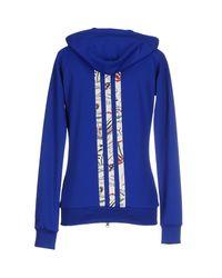 Y-3 - Blue Sweatshirt - Lyst
