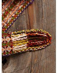 Free People - Multicolor Vintage Textile Belt - Lyst