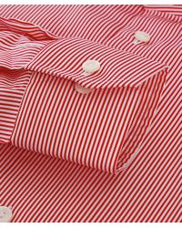 Eton of Sweden - Red Slim Fit Striped Shirt for Men - Lyst